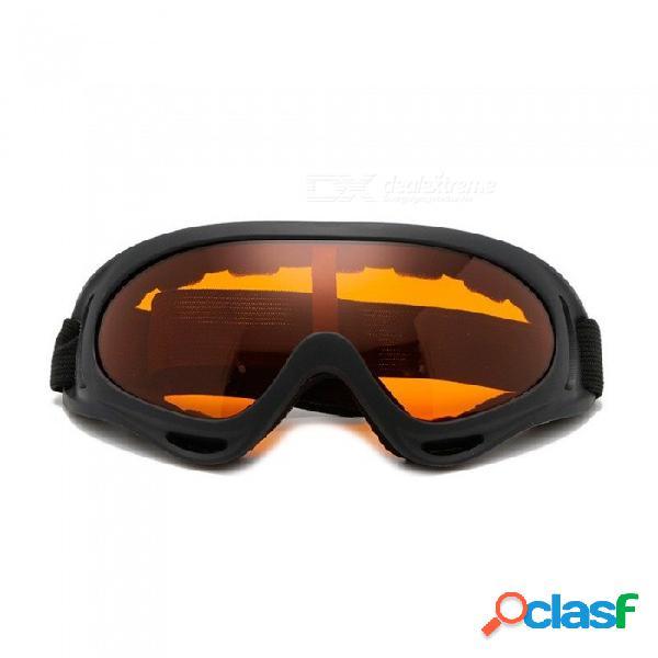 Gafas protectoras de motocicleta deportes al aire libre x400 gafas de esquí a prueba de viento gafas de snowboard control de disturbios ejército verde