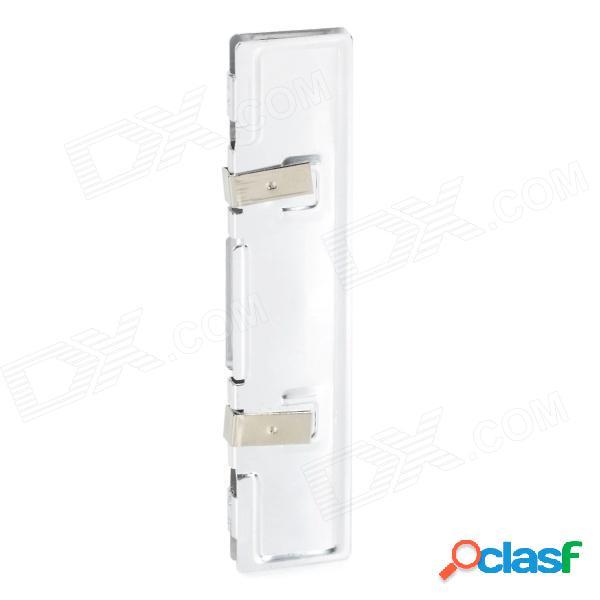 Refrigerador del difusor de calor de la memoria pc de la computadora de ram de la aleación de aluminio - plata