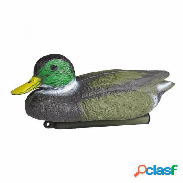Señuelo flotante realista del pato del material de primera calidad portátil del pe, cazando de la caza para la caza al aire libre que tira color de la imagen