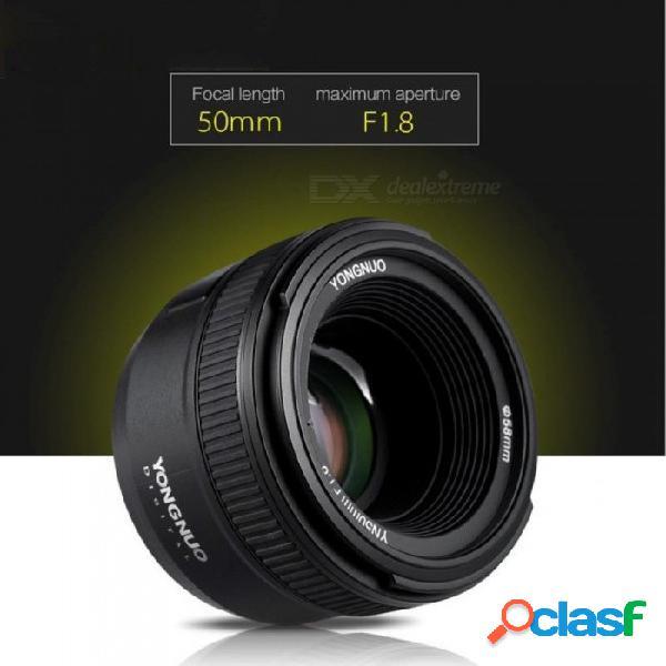 Lente de enfoque automático de gran apertura yn50mm f1.8 para nikon d800 d300 d700 d3200 d3300 d5100 d5200 d5300 lente de cámara dslr nikon / para nikon
