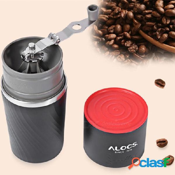 Alocs cw-k16 vajilla para el café al aire libre fabricante de café 4 en 1 camping de acero inoxidable fácil molinillo de café vajilla de camping
