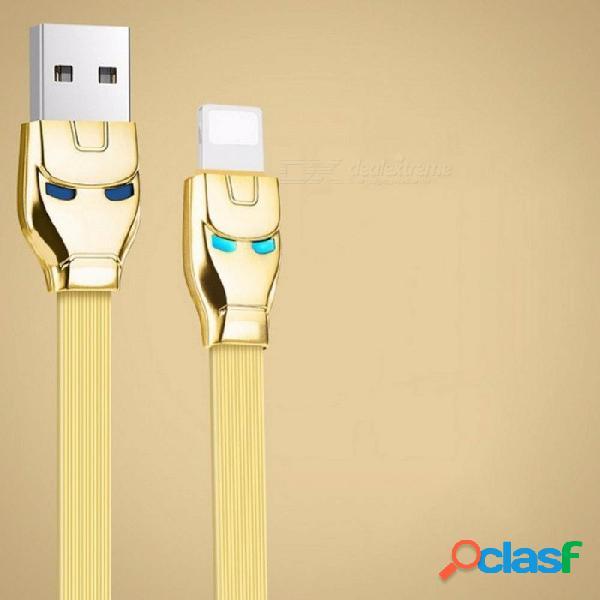 Cable usb hoco para iphone 8 cable de datos cargador de manzana rápido para iphone x 7 6 6s 5 5s ipad cables de teléfono móvil