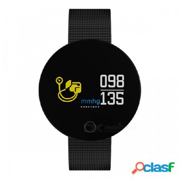 Ordro 007pro pulsera inteligente de 0,96 pulgadas con prueba de ritmo cardíaco y presión arterial - negro