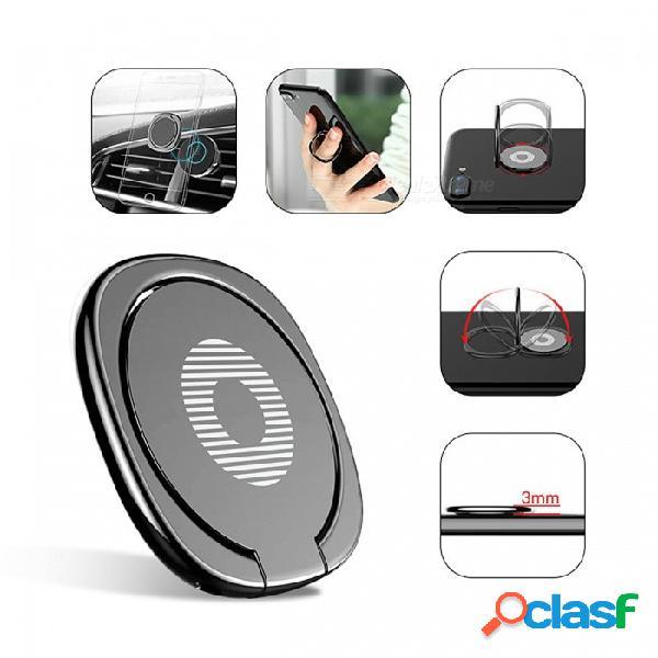 Soporte universal del teléfono móvil del soporte universal del soporte del escritorio del anillo de dedo de 360