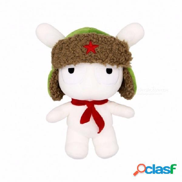 Xiaomi mitu conejo peluche muñeca de peluche 25 cm de dibujos animados niños juguetes para niñas niños niños cumpleaños regalo de navidad xiaomi muñeca blanca