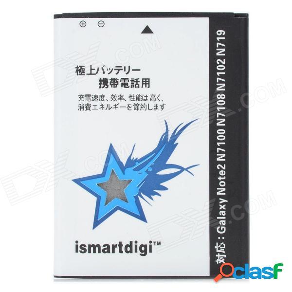 Ismartdigi batería recargable de ion de litio 3100mah para samsung n7100 / galaxy note 2 / n7102 - blanco