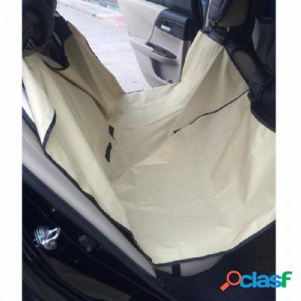 Cubierta del asiento del automóvil del coche del coche del coche cubierta de asiento de coche estera almohadilla impermeable a prueba de arañazos almohadilla para perro gato