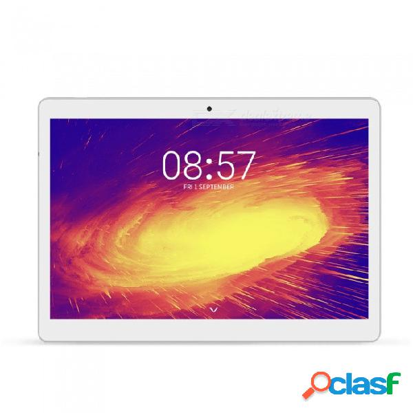 "Alldocube m5 tabletas, 10.1"" 1600 * 2560 4g tableta de llamada telefónica con mtk x20 deca-core android 8.0, 4gb ram, 64gb rom - blanco"