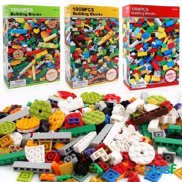 1000 unids diseñador de ladrillos bloques creativos anime niño pequeños bloques de construcción diy juguete a granel para los niños regalo