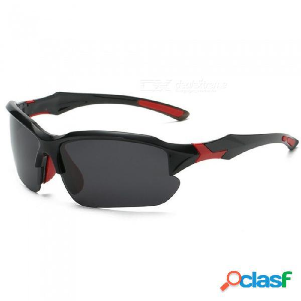 Gafas de sol fotocromáticas, gafas camaleónicas polarizadas unisex, gafas de sol con cambio de color, gafas de ciclismo de alta definición en negro