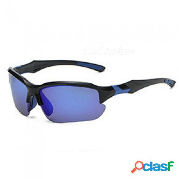 Gafas de sol fotocromáticas, lentes de camaleón polarizadas unisex, gafas de sol con cambio de color, gafas de sol hd, azul