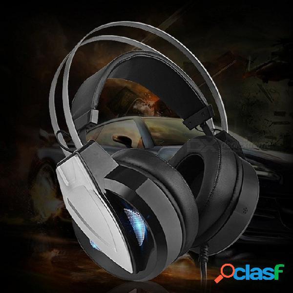Juego de auriculares aichao603 montados en la cabeza cf e-sports auriculares audífonos informáticos de choque color aleatorio