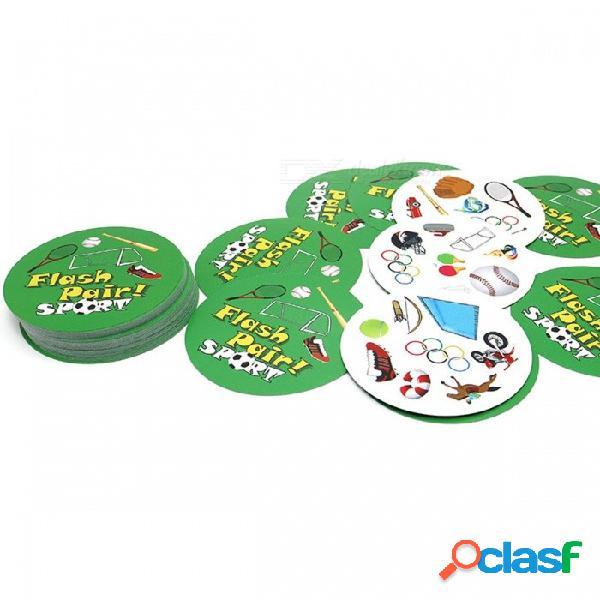 Juego de mesa spotquot popular con par de parpadeo popular con papel de alta calidad, el mejor juego de tarjetas de fiesta en casa de regalo (sin caja metálica) fp básico inglés