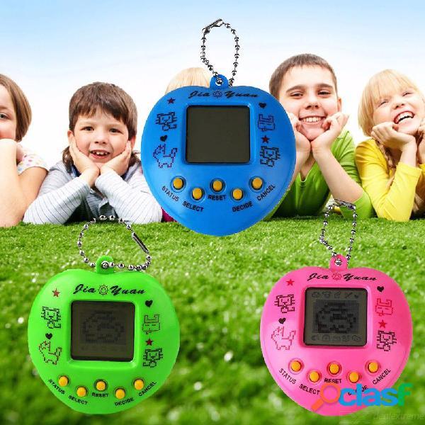 Niños divertidos jugadores de mano controlador de videojuegos melocotón tipo de corazón consolas de juego color aleatorio