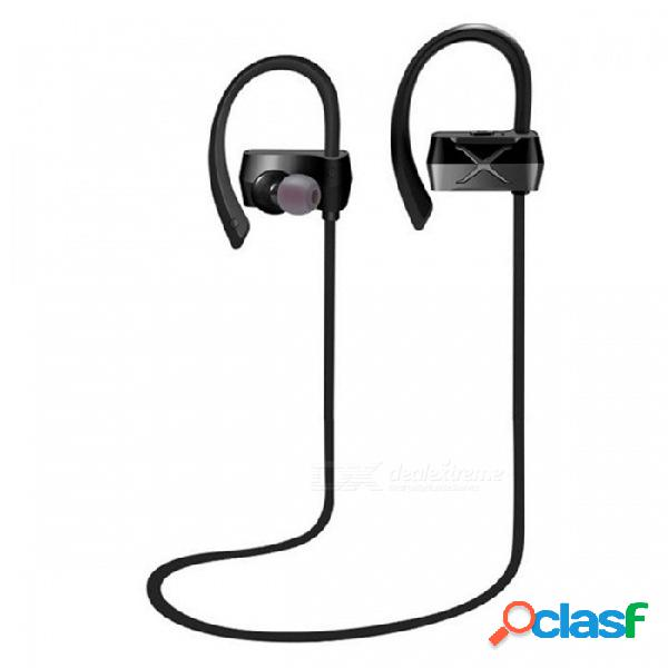 Zhaoyao n28 ipx4 impermeable bluetooth inalámbrico v4.1 earhook auriculares auriculares para deportes fitness montar