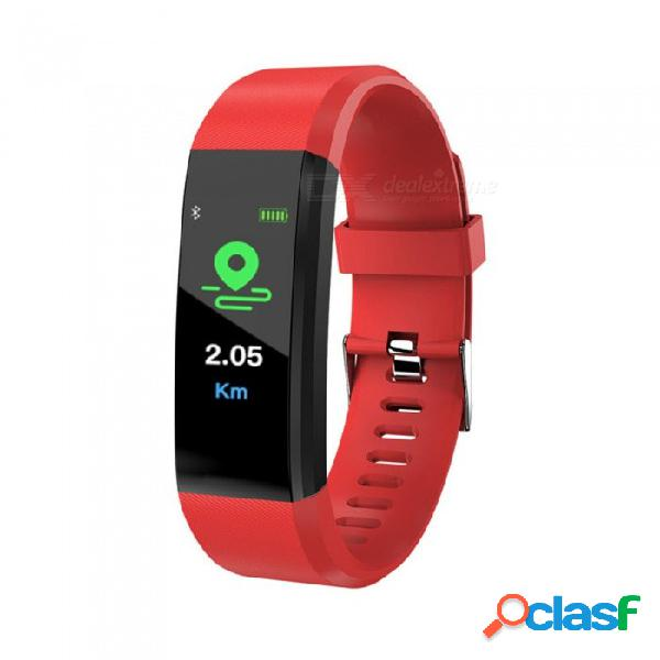 115plus ip67 impermeable color pantalla bluetooth pulsera inteligente con frecuencia cardíaca / presión sanguínea / monitoreo del sueño