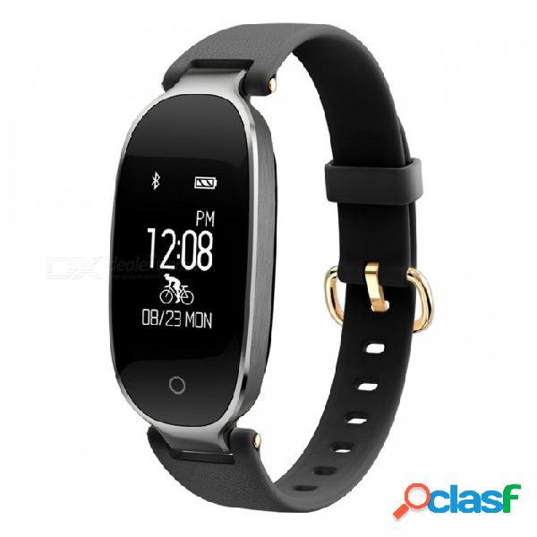 S3 0.96 pulsera inteligente con pantalla oled con monitor de ritmo cardíaco dinámico, rastreador de ejercicios
