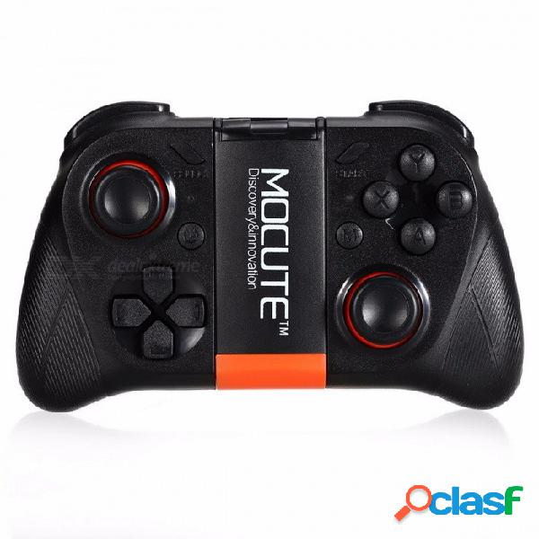 Mocute-050 bluetooth3.0 gamepad inalámbrico vr controlador de juegos juego para android joystick controladores bluetooth negro
