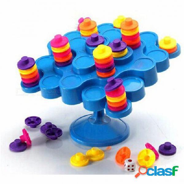"""Nuevo juego de balanceo, """"no dejes caer mientras intentas ganar puntos"""" gran juego de mesa de actividades familiares para niños niños coloridos"""
