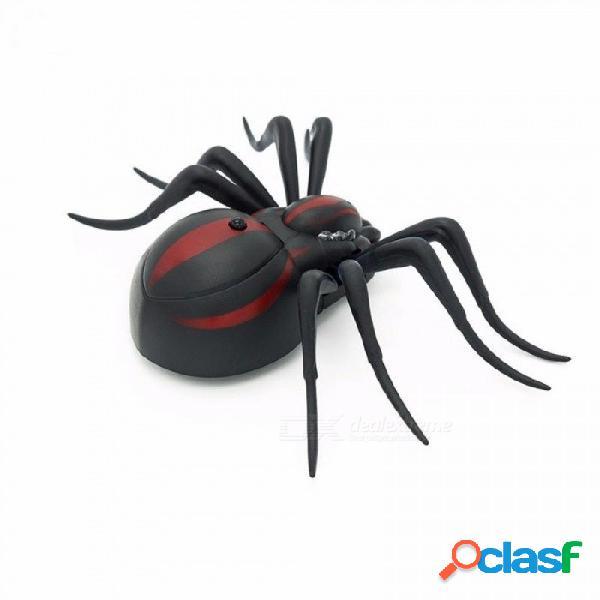 Control remoto infrarrojo cucaracha araña rc juguete simulado realista falso creativo eléctrico broma animal juguetes gris oscuro