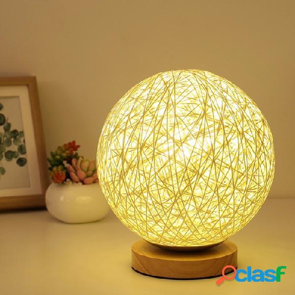 Led luna luz de la noche lámpara de la luna escritorio usb carga decoración del hogar regalo creativo lámpara de mesa de escritorio luz amarilla / azul