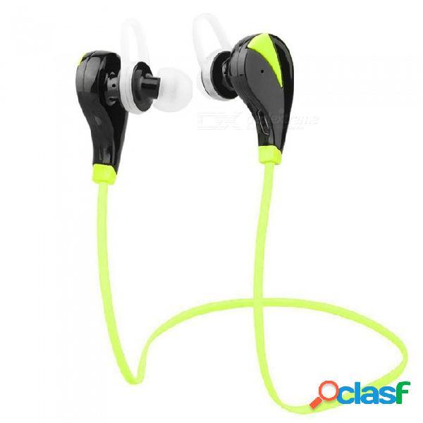 Zhaoyao mini bluetooth v4.1 auriculares deportivos inalámbricos auriculares para correr ejercicios de fitness - verde