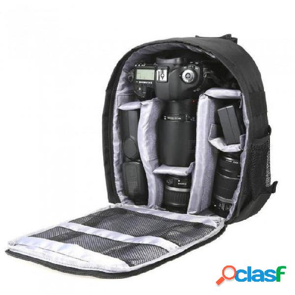 Andoer dslr camera bag cámara de video mochila resistente al agua bolsa de cámara transpirable multifunción con trípode para exteriores