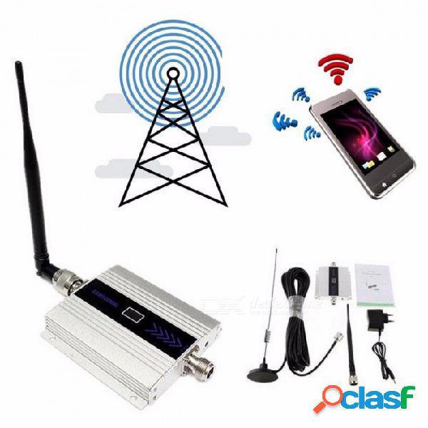 Gsm 2g 900 mhz amplificador de señal de teléfono celular móvil repetidor amplificador gsm 900 mhz repetidor celular al por mayor enchufe de la ue