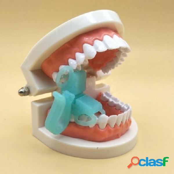 2 tamaños de mordida dental bloques de prop suave silicona mejilla retractor abridor de boca autoclave ortodoncia herramienta de cuidado oral 2 unids / set 2 pc / set