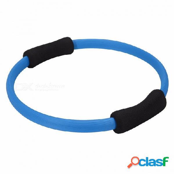 Aolikes fitness yoga círculo mágico anillo de pilates, músculos deportes gimnasio cuerpo entrenamiento ejercicio yoga equipo de fitness rosa