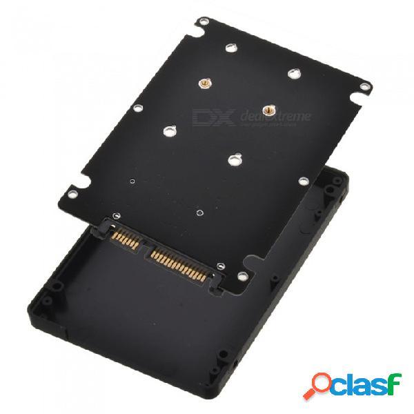 Mini caja de disco duro sdbc sata msata kitbon mini, caja de adaptador de tarjeta sata 3.0 de 2.5 pulgadas