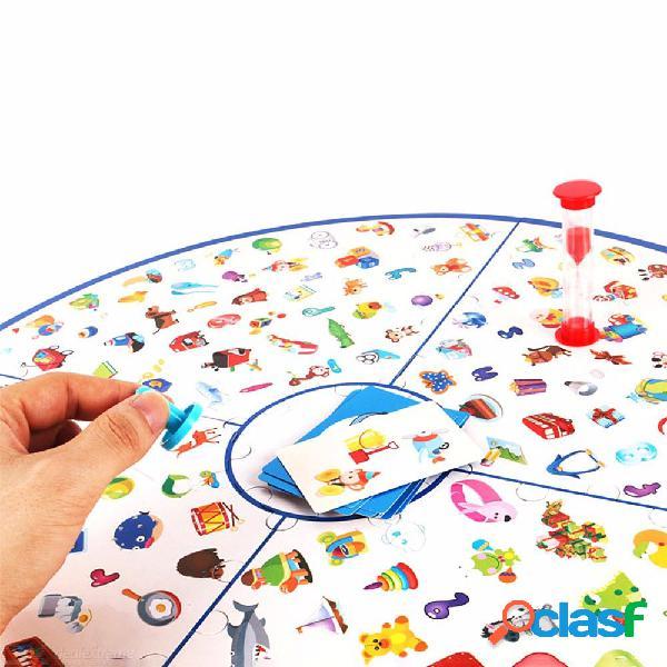 Pequeño detective para fotos rompecabezas juguete desarrollar paciencia atención ver juego juguetes para niños educación