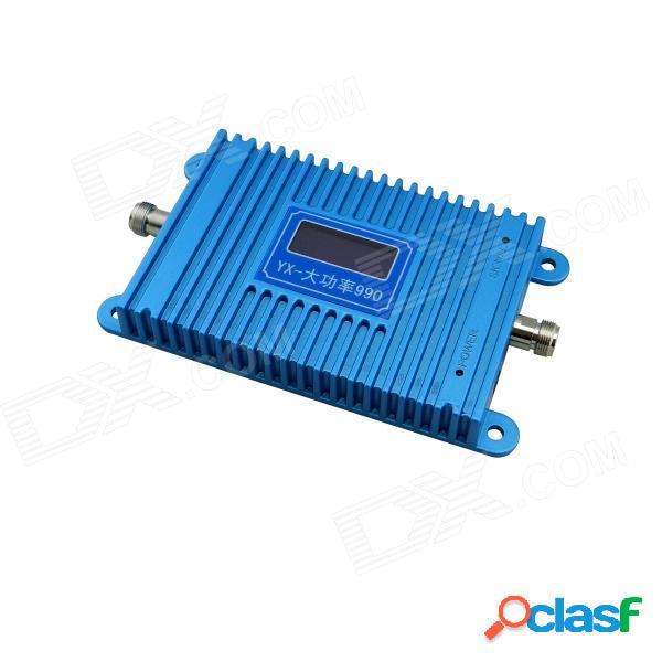 """Yx990 4.5"""" lcd 900mhz gsm950 890 mhz ~ 915 mhz / 835 ~ 960 mhz teléfono celular amplificador de señal amplificador - azul"""