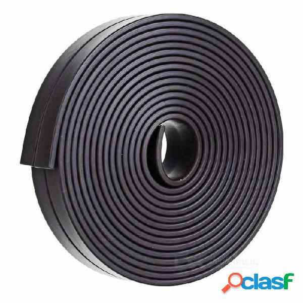 Imán de goma de la cinta de tira magnética flexible de 2000 * 15 * 2m m diy para la escuela del amperio de la oficina