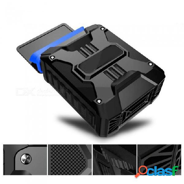 Mini usb portátil de extracción de aire ventilador de refrigeración extractor de refrigeración del ventilador hardware para portátil - negro