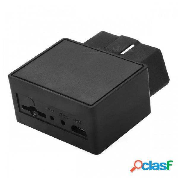 Plug and play obdii obd2 obd 16-pin localizador de localizador de gps de coche con sistema de gestión de flota de vehículo web ios y la aplicación de android