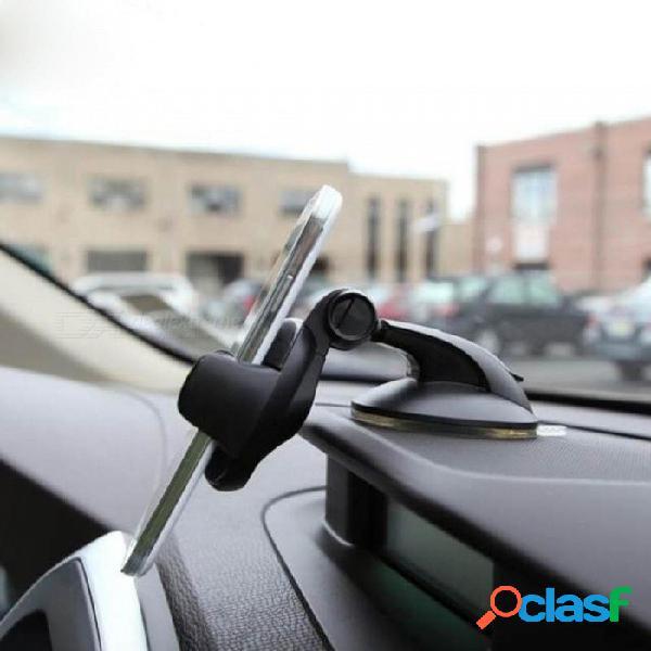 Parabrisas montaje sostenedor del coche en el coche para samsung s9 s8 plus soporte para coche 360 rotacion para iphone x apoyo del soporte del teléfono negro