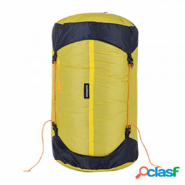 Bolsa de saco de dormir ultra ligero naturehike bolsa de saco de compresión 20d impermeable a la tela de silicona m