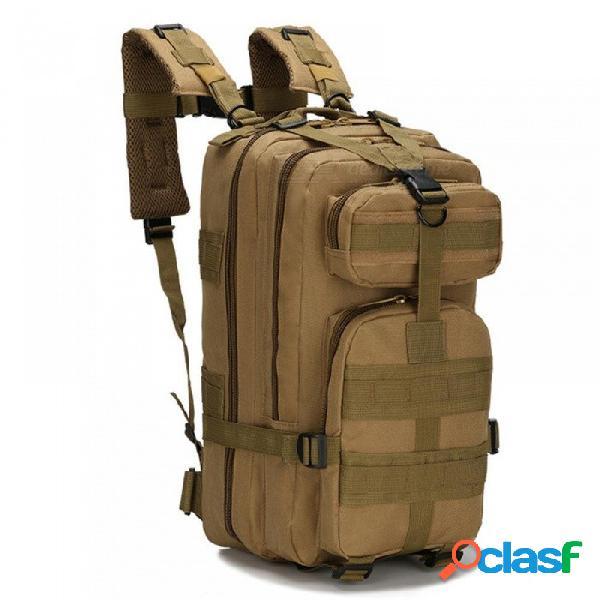 30l mochila táctica militar al aire libre molle bolsa ejército deporte mochila de viaje camping senderismo bolsa de camuflaje de color caqui