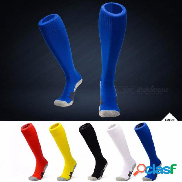 Deportes para hombre sobre la rodilla fútbol fútbol hockey rugby calcetines calcetines largos 35-43 tamaño