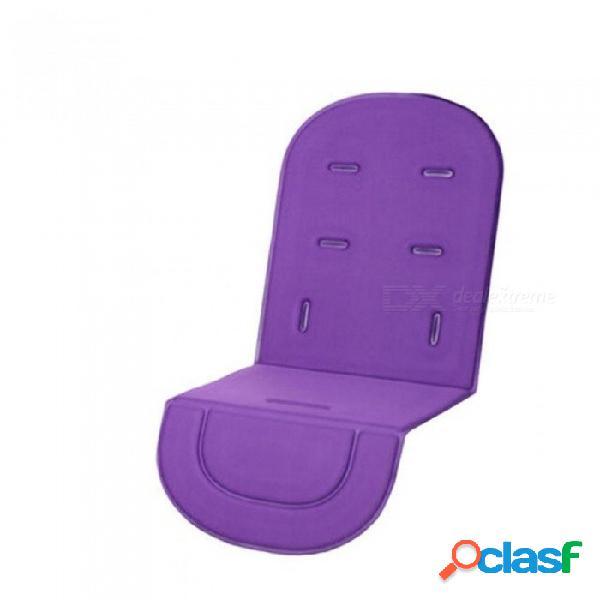 Sillita de paseo, cojín del asiento del bebé, cojín del asiento, cojín plegable sillón del cojín para niños, cochecitos de bebé colchón grueso negro suave