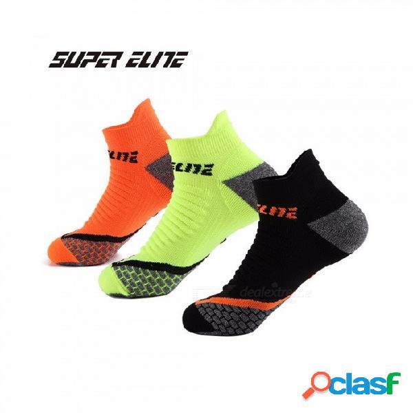 Calcetines deportivos para hombre profesional calcetines para correr transpirables calcetines de ciclismo para correr al aire libre calzado de senderismo 40-45 tamaño