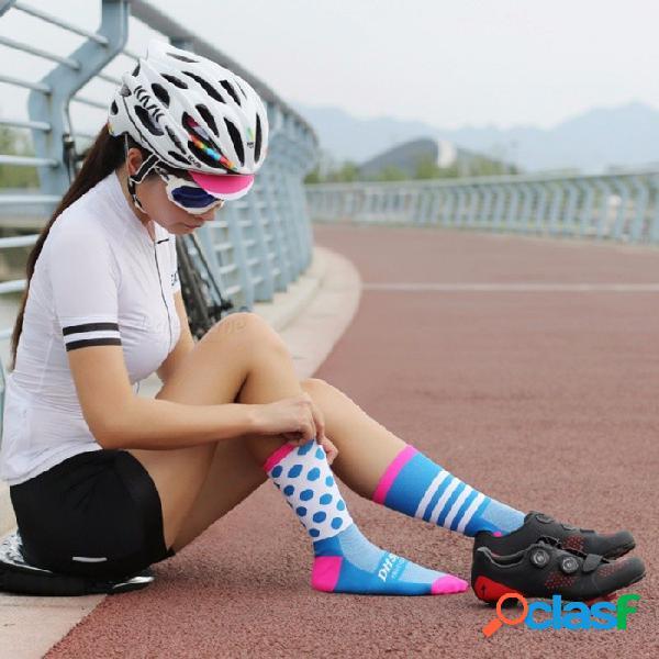 Ciclismo calcetines montaña ciclismo carretera alargamiento calcetines deportivos medias unisex tamaño 34-46