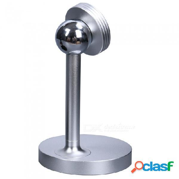 Nuevo imán soporte giratorio para teléfono móvil de aleación de aluminio con soporte magnético de 360 grados - plata