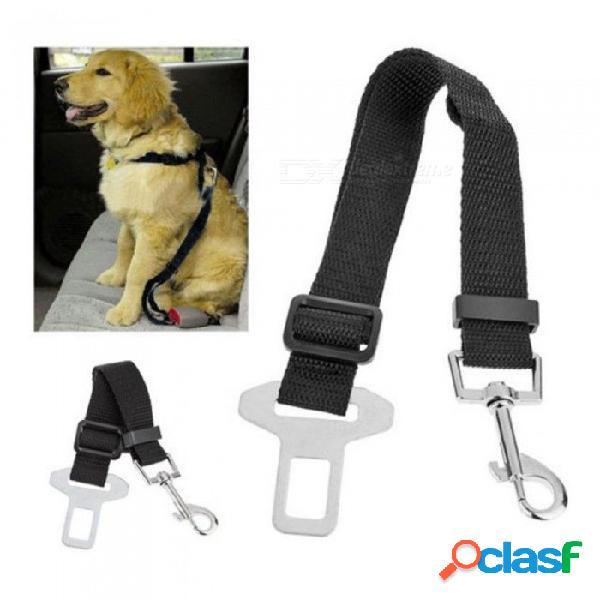 Perro ajustable cinturón de seguridad del coche mascotas perros perros cinturón de seguridad gato portadores lleva cinturones accesorios para mascotas 1 pcs