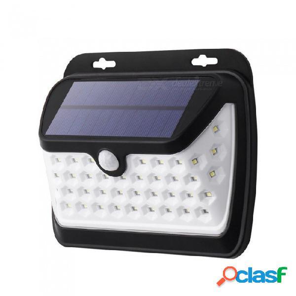 Energía solar a prueba de agua de zhaoyao ip65 que carga la luz de 2835smd-42leds led para la iluminación al aire libre del patio