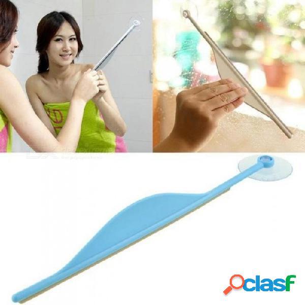 Baño creativo espejo plano ventana limpiador de vidrios limpiador de baño limpiador de vapor limpiador enjugador azul color azul