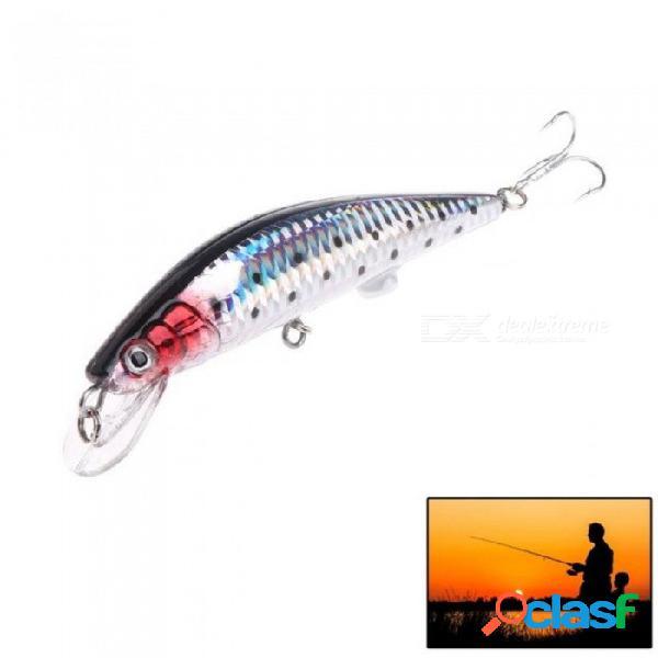 Cebo de pesca usb recargable led señuelo ligero señuelo resistente a la intemperie swimbait adecuado para agua dulce y agua salada.
