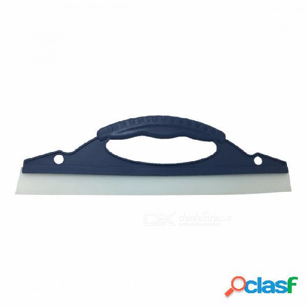 D estilo de auto auto lavar la cuchilla cepillo de vidrio limpiaparabrisas ventana nieve agua lluvia limpia barrido pala de plástico antideslizante mango