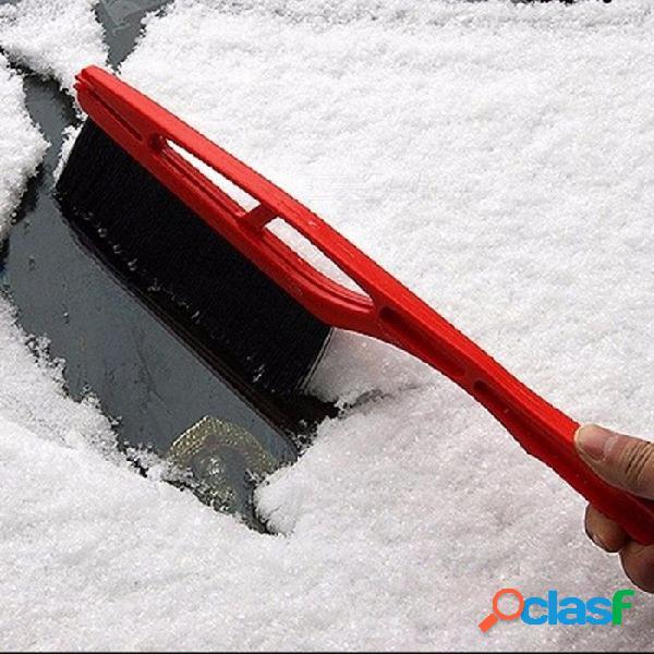 Retiro durable de la pala del cepillo de la nieve del rascador del hielo de la nieve del vehículo del coche para el color al azar del invierno